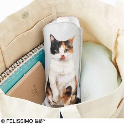 猫のペットボトル タオル